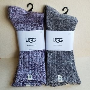 2 PR. OF UGG SOCKS